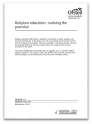Religious education: realising the potential