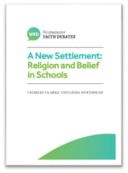 A New Settlement: Religion and Belief in Schools